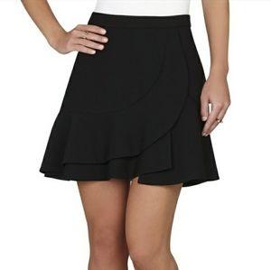 BCBGMaxAzria Kimberly Ruffle A-line Skirt
